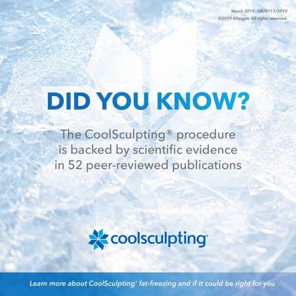 CoolSculpting fat freezing