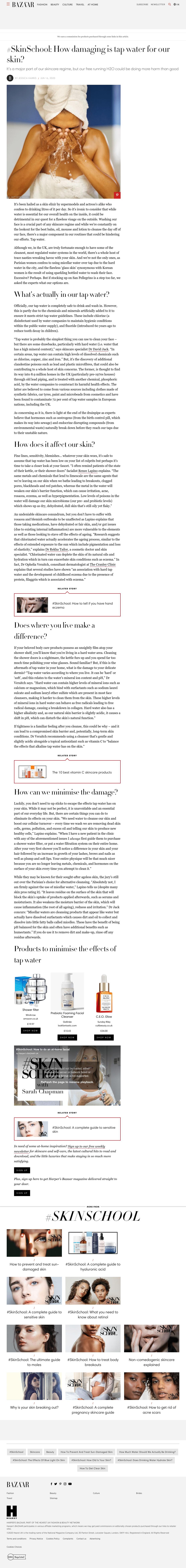 Harpers Bazaar - June 2020
