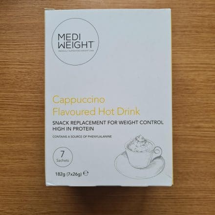 MediWeight Cappuccino Flavoured Hot Drink