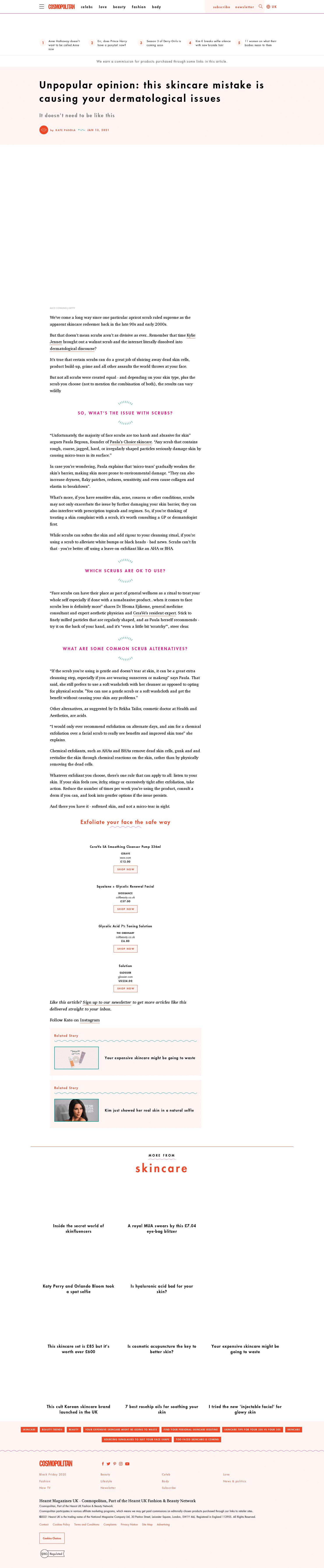 Cosmopolitan - January 2021