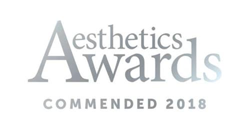 2018 Clinic Reception Team of the Year Finalist (Aesthetic Awards)