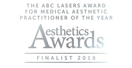 2018 Medical Aesthetic Practitioner of the Year Finalist (Aesthetic Awards)