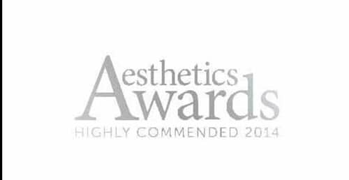 Aesthetics-awards-highly-recommended-2014