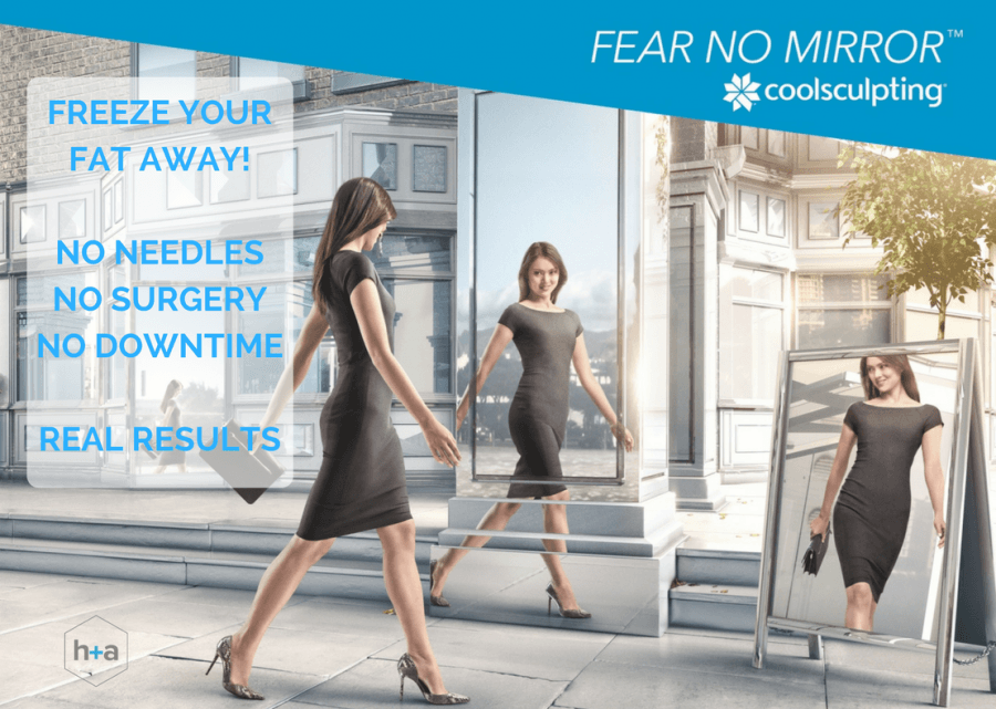 Specialist skin, laser and body clinic, health + aesthetics, Farnham CoolSculpting event fat freezing