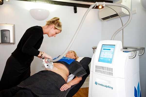 Freeze fat - CoolSculpting treatment at health + aesthetics, Farnham, Surrey
