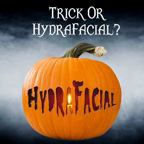 hydrafacial halloween promotion health and aesthetics farnham