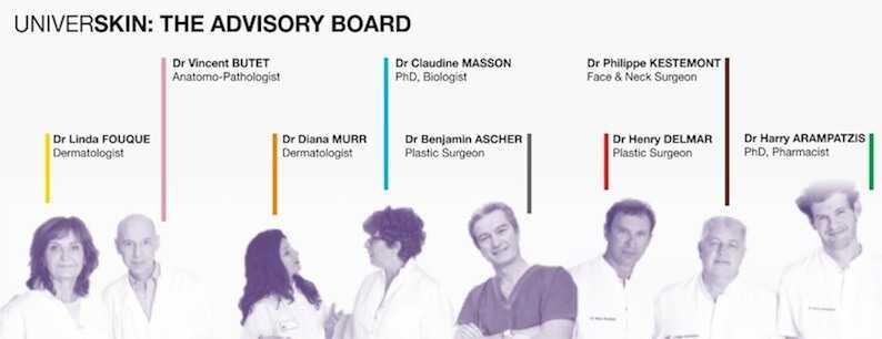 Universkin doctors at health + aesthetics, Farnham, Surrey