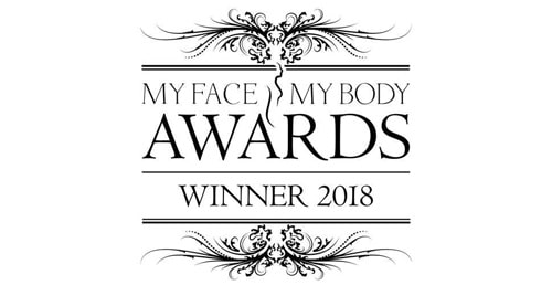 2017-2018 Best Aesthetic Clinic South East England - Winner (My Face My Body Awards)