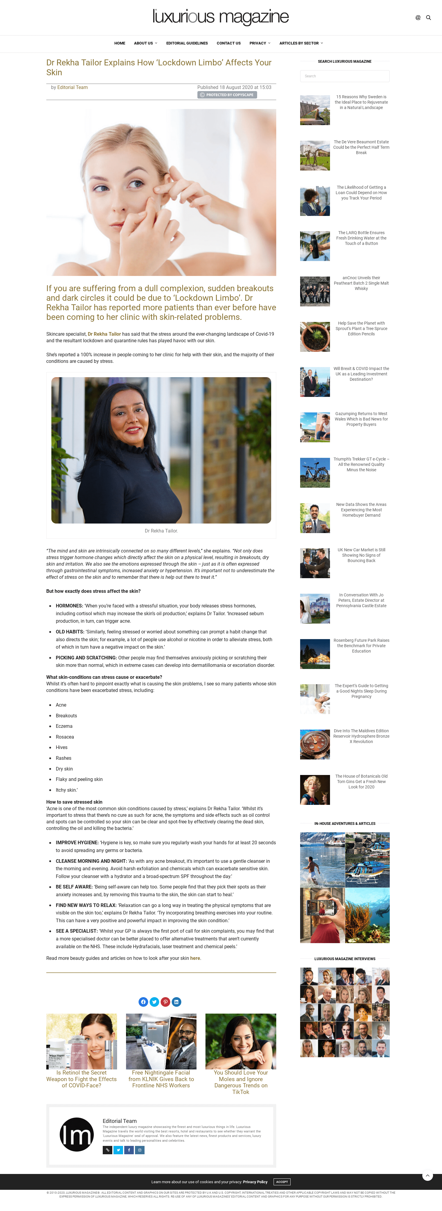 Luxurious Magazine - October 2020